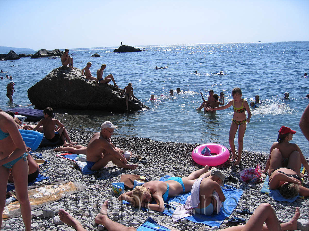 Фото центральный пляж в лоо