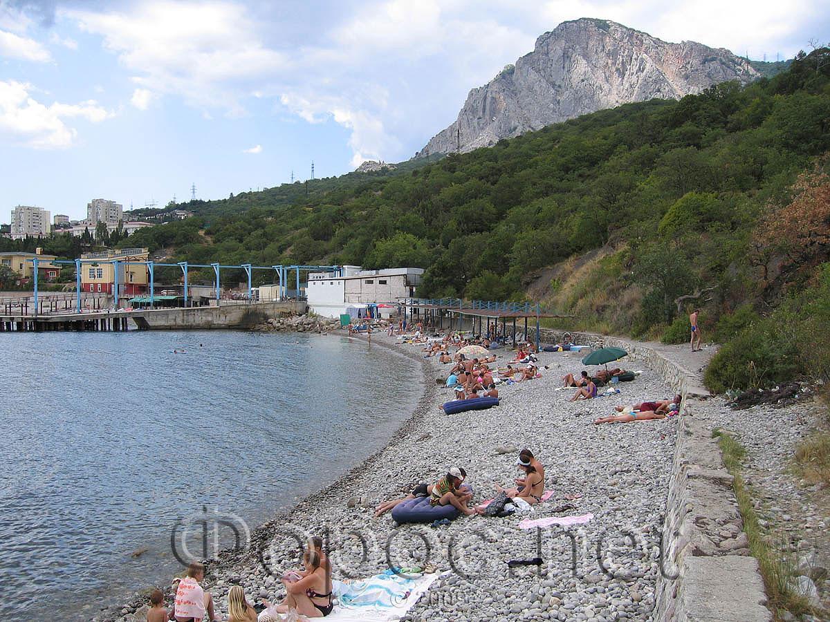 Городской пляж фороса фото
