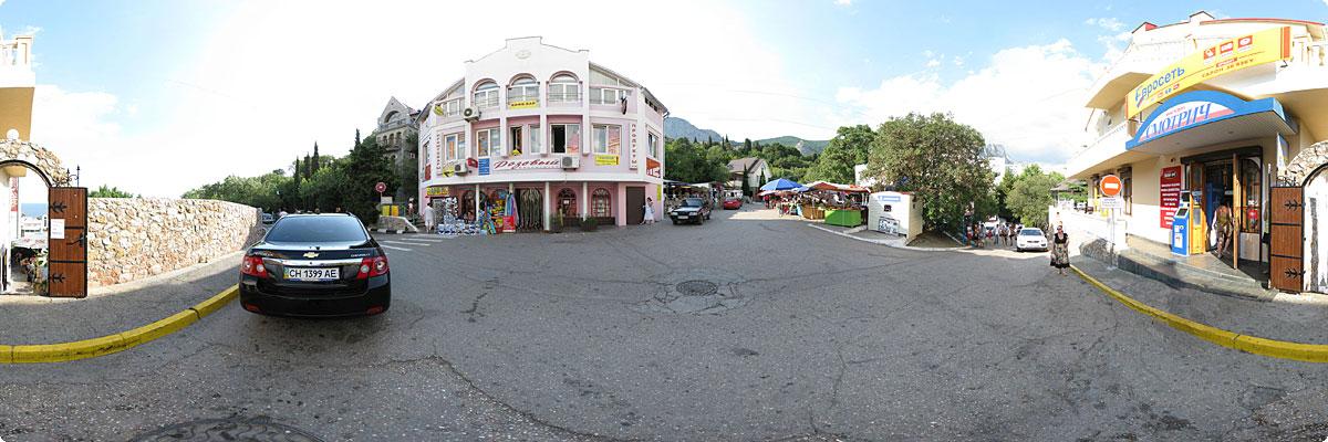 360° панорама «Рынок в Форосе»