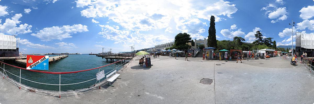 360° панорама «Набережная Ялты»