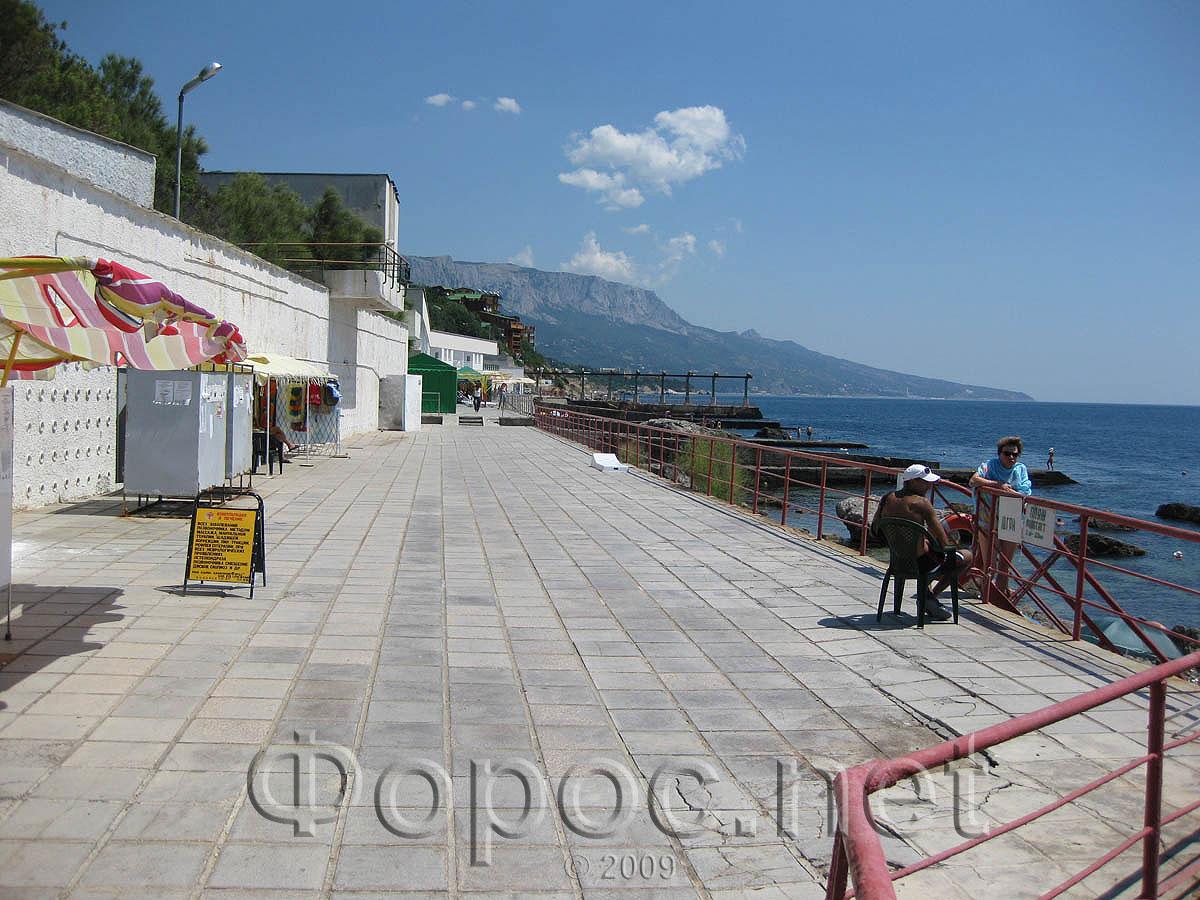 Крым форос фото пляжей и набережной 2018